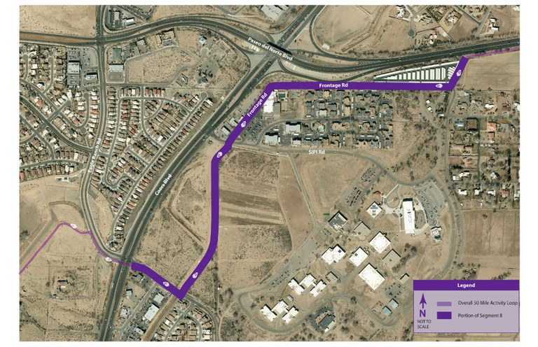 50-Mile Loop: Segment 8 Construction