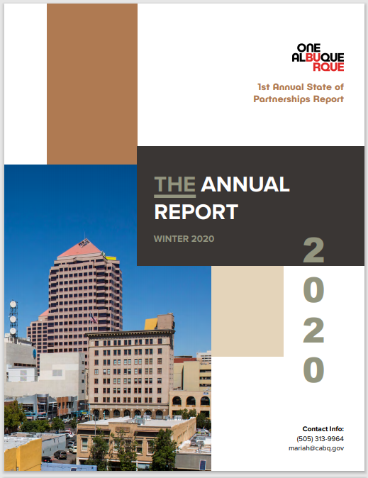 The cover of the 1st Annual State of Partnerships Report: Winter 2020
