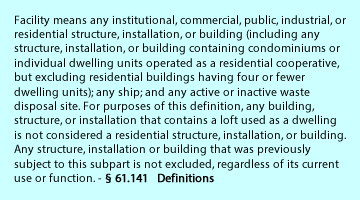 Facility definition