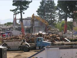 Construction demolition