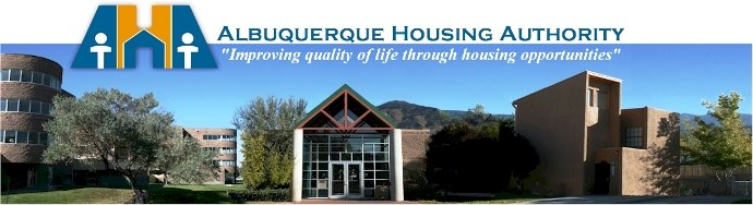 ABQ Housing Authority Banner