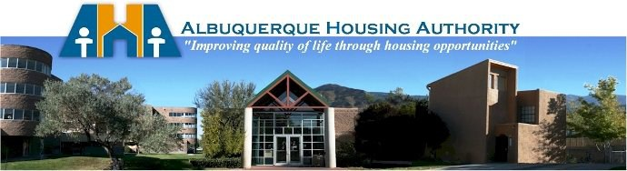 Albuquerue Housing Authority Banner
