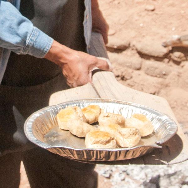 Horno Biscuits at Casa San Ysidro