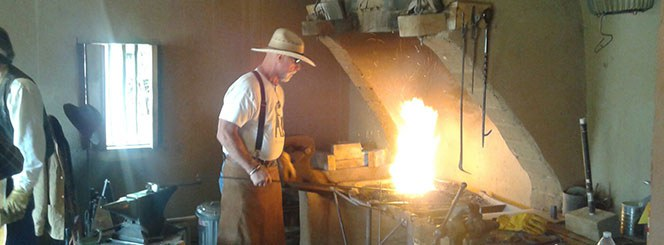 Casa San Ysidro Blacksmith