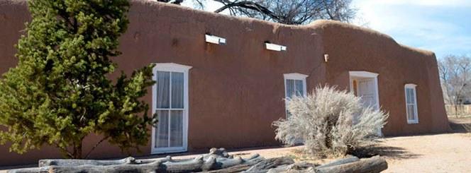 Photo of exterior of Casa San Ysidro.