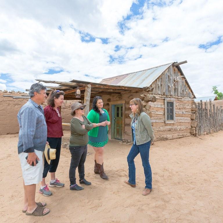 Casa San Ysidro Public Tour, New Mexico True