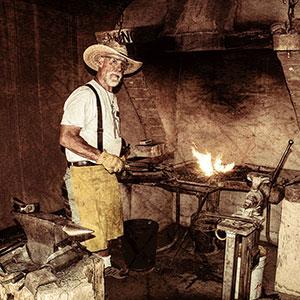 Dave Sabo, Blacksmith