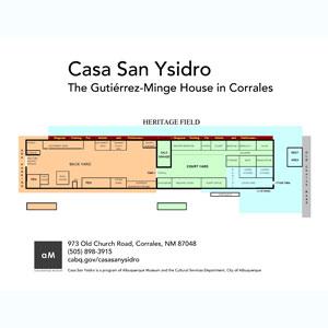 Casa San Ysidro Floor Plan