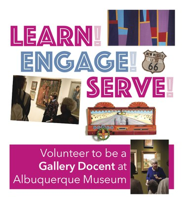 Gallery Docent Flyer 2021