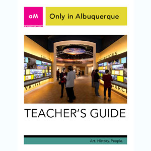 Only in Albuquerque Teacher Guide Cover