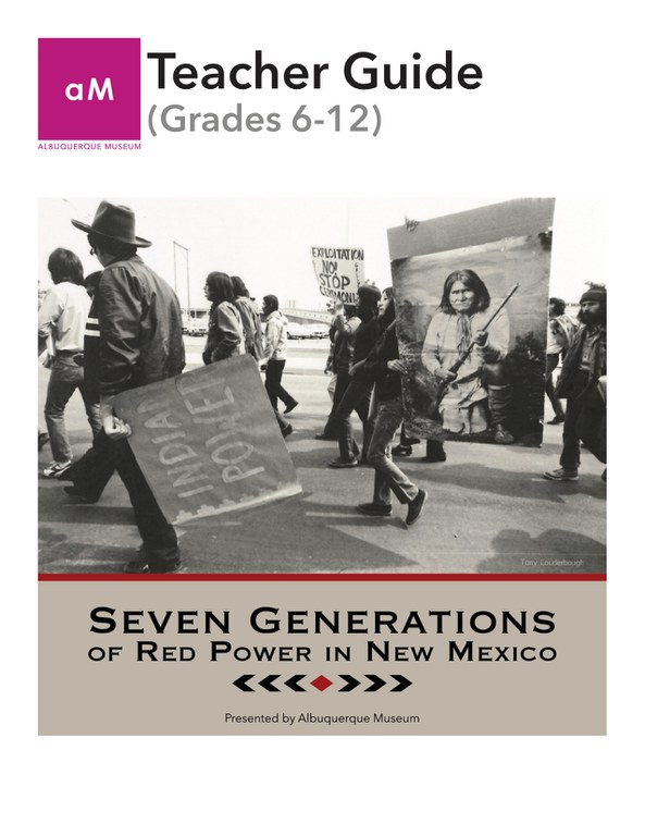 Seven Generations Teacher Guide Cover