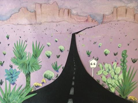 Family Art Activity: New Mexico Landscape