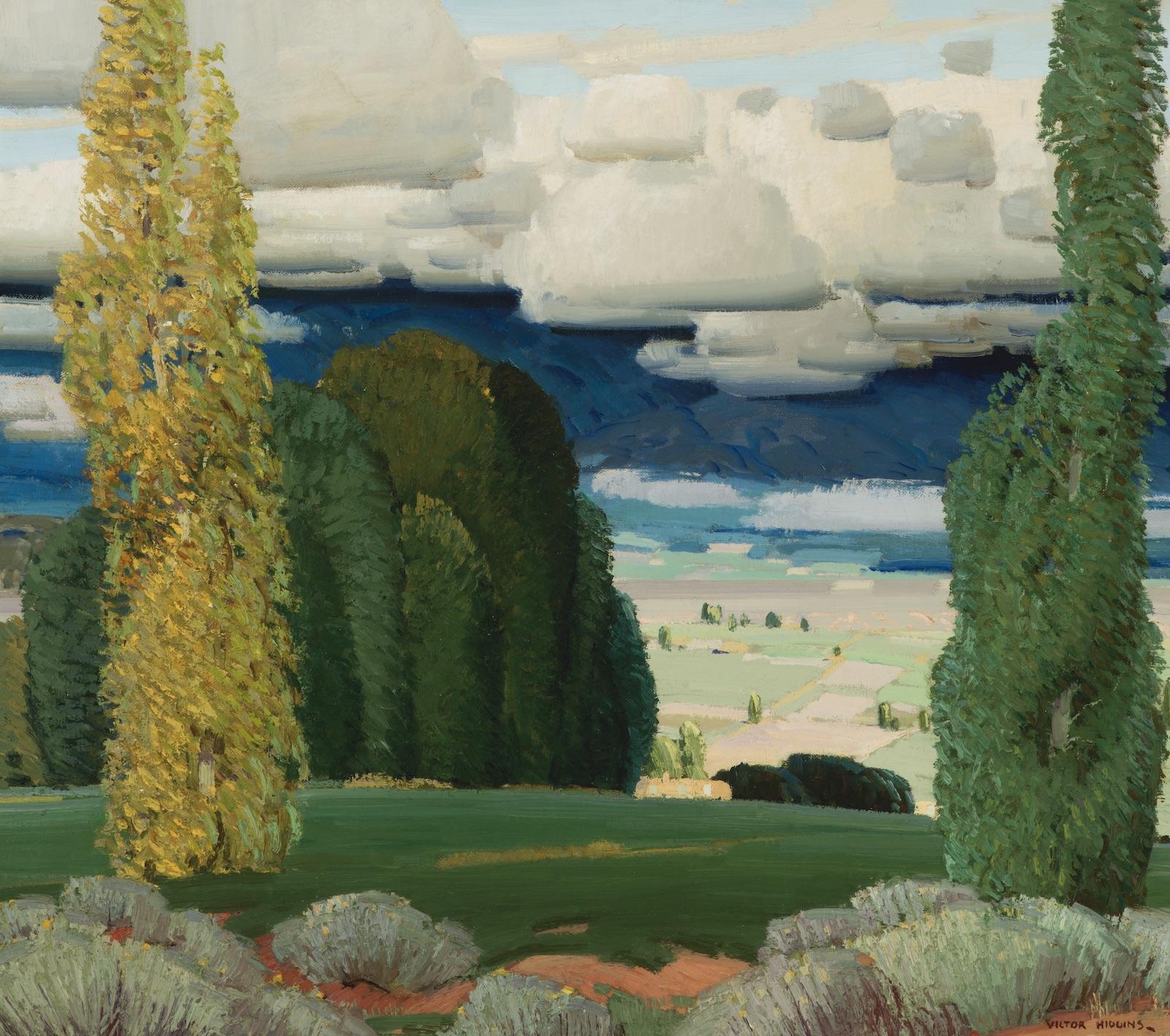 Victor Higgins, Taos Valley Landscape