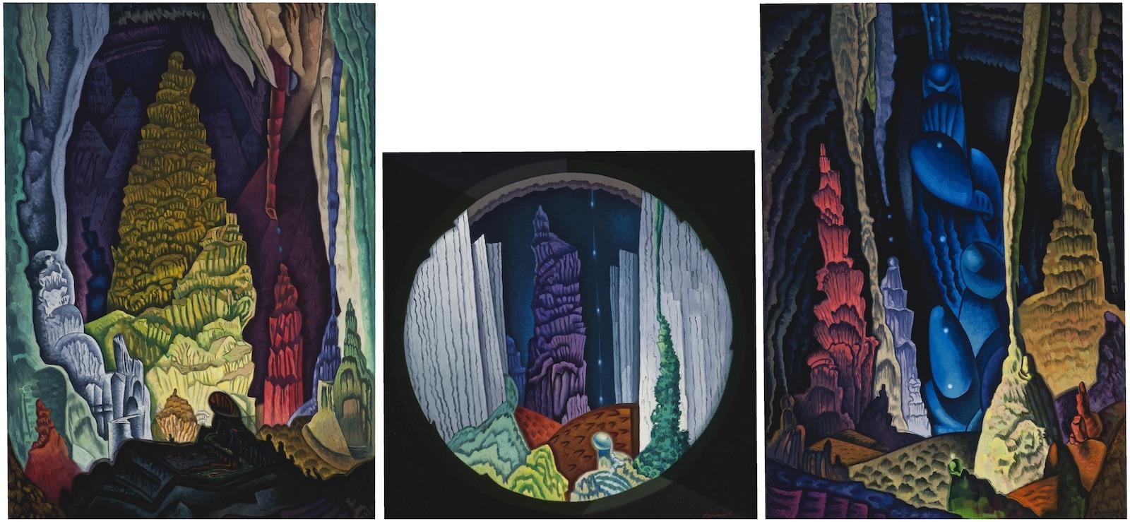 Raymond Jonson, Carlsbad Trilogy