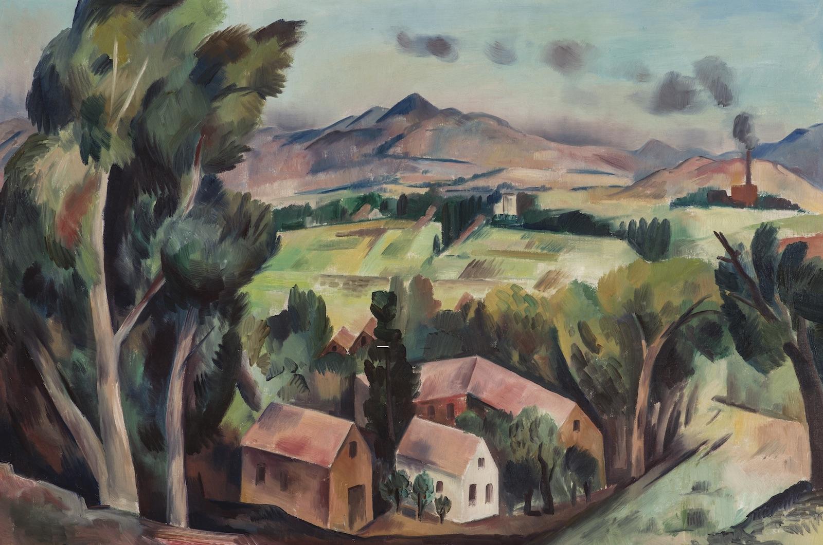 B.J.O. Nordfeldt, Santa Fe