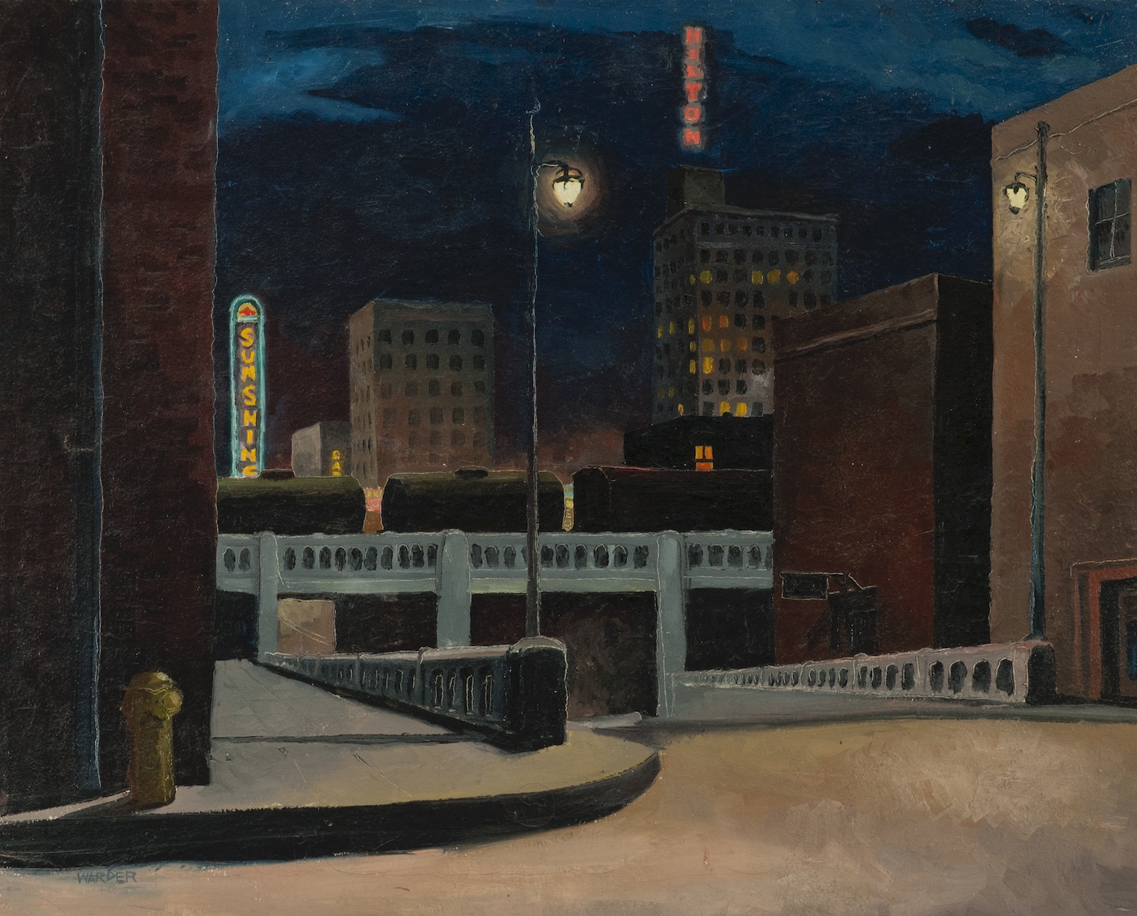 William Warder, Night on Central Avenue