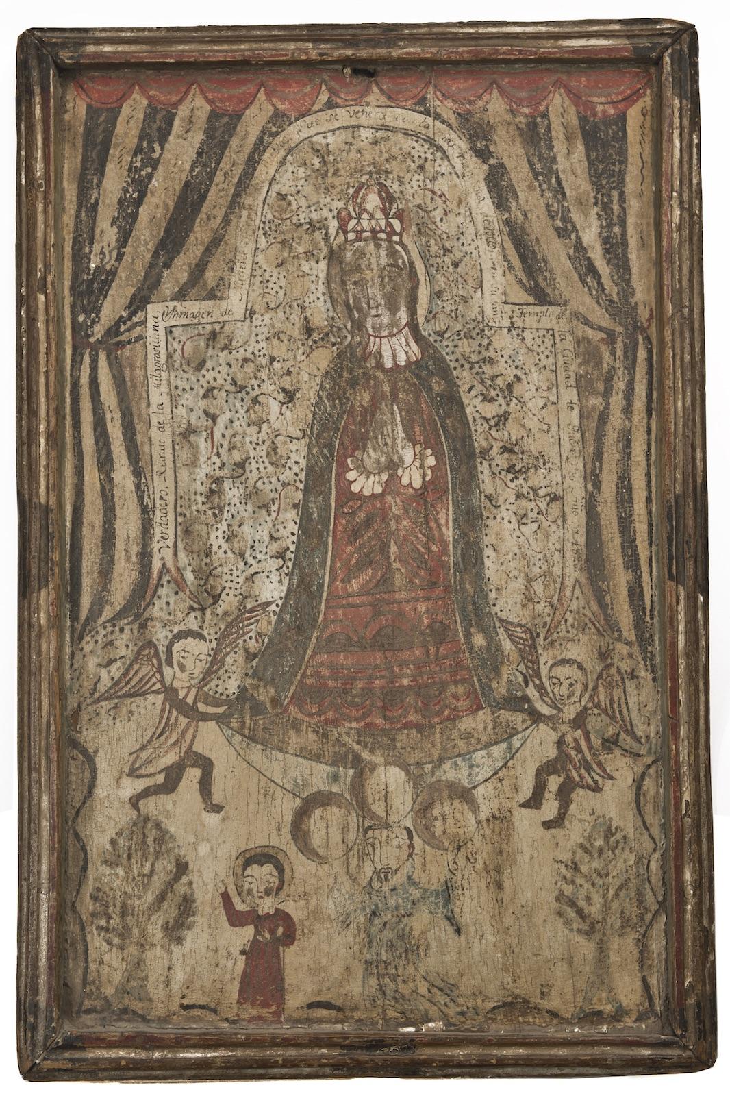 """The """"A.J."""" Santero, Nuestra Señora del Pueblito de Querétaro"""