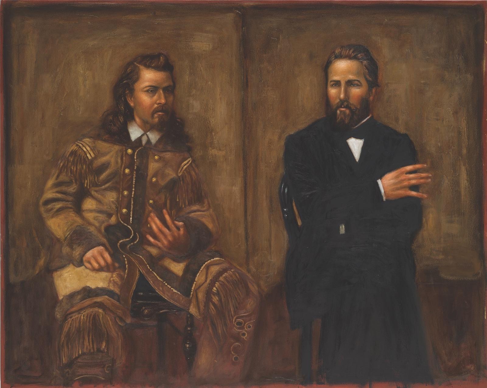 Ray Martín Abeyta, The Artist and the Showman, East Coast West Coast, Buffalo Bill and Herman Melville