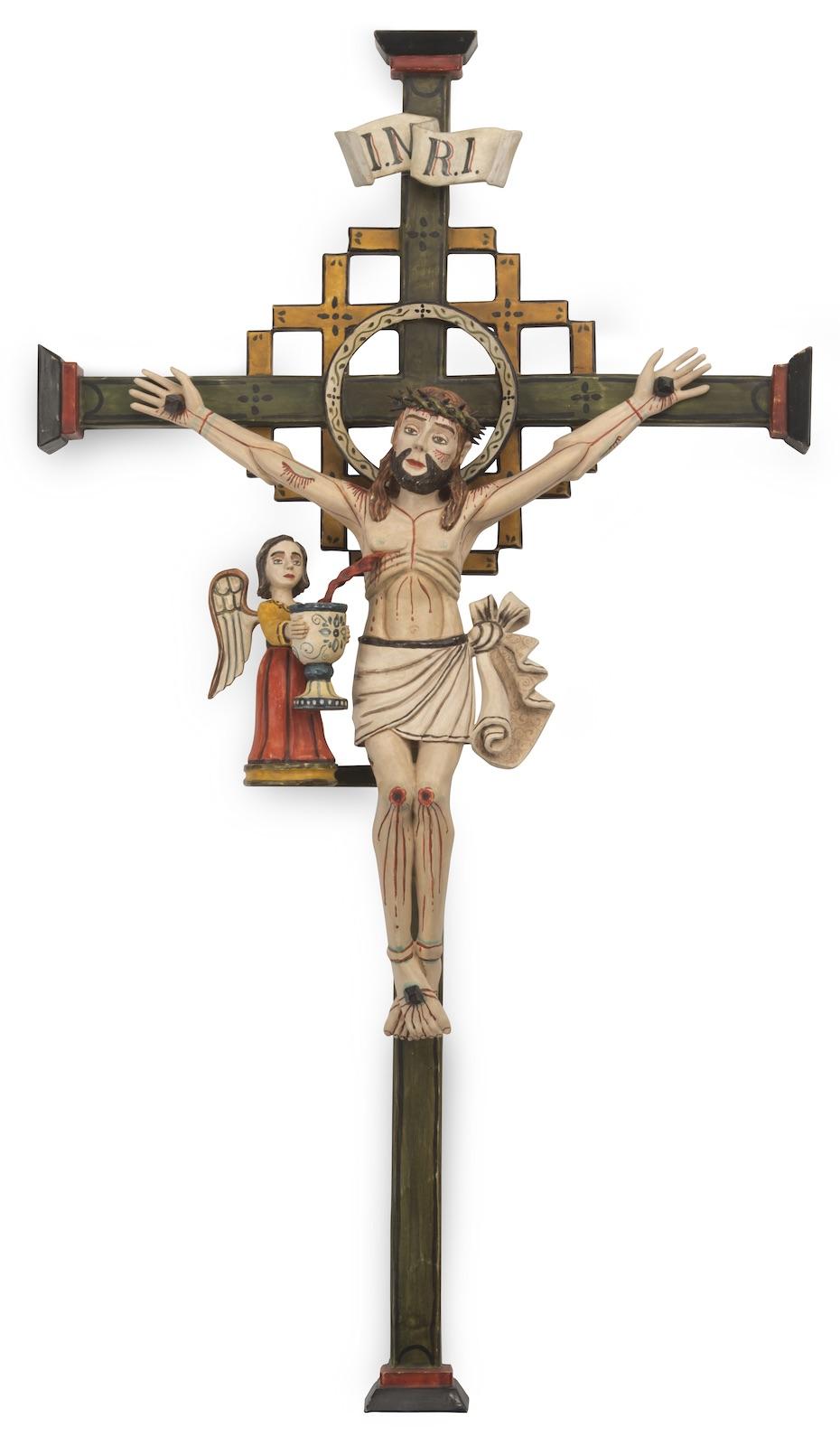 Victor Gustavo Goler, Cristo Crucificado (Lattice Cross style)