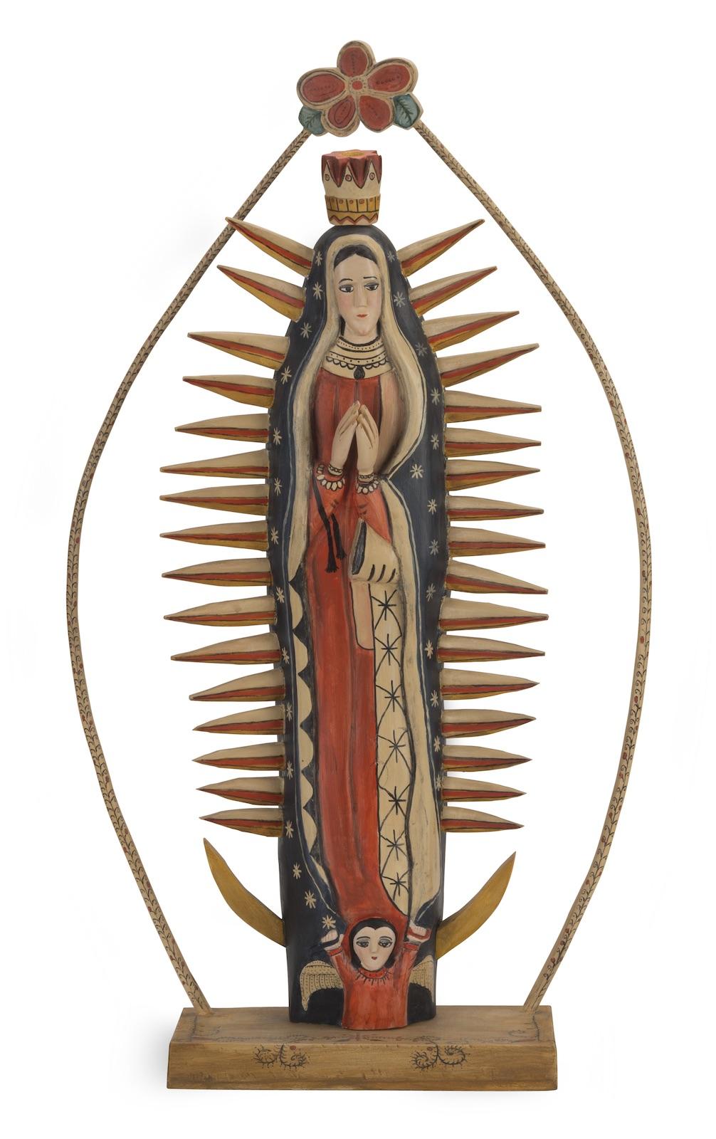 Eulogio Ortega, Zoraida Ortega, Virgen de Guadalupe