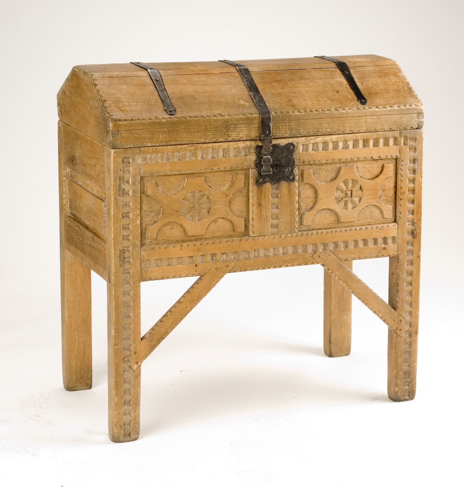 Manufactured for the Fred Harvey Company, Spanish Colonial Revival Chest