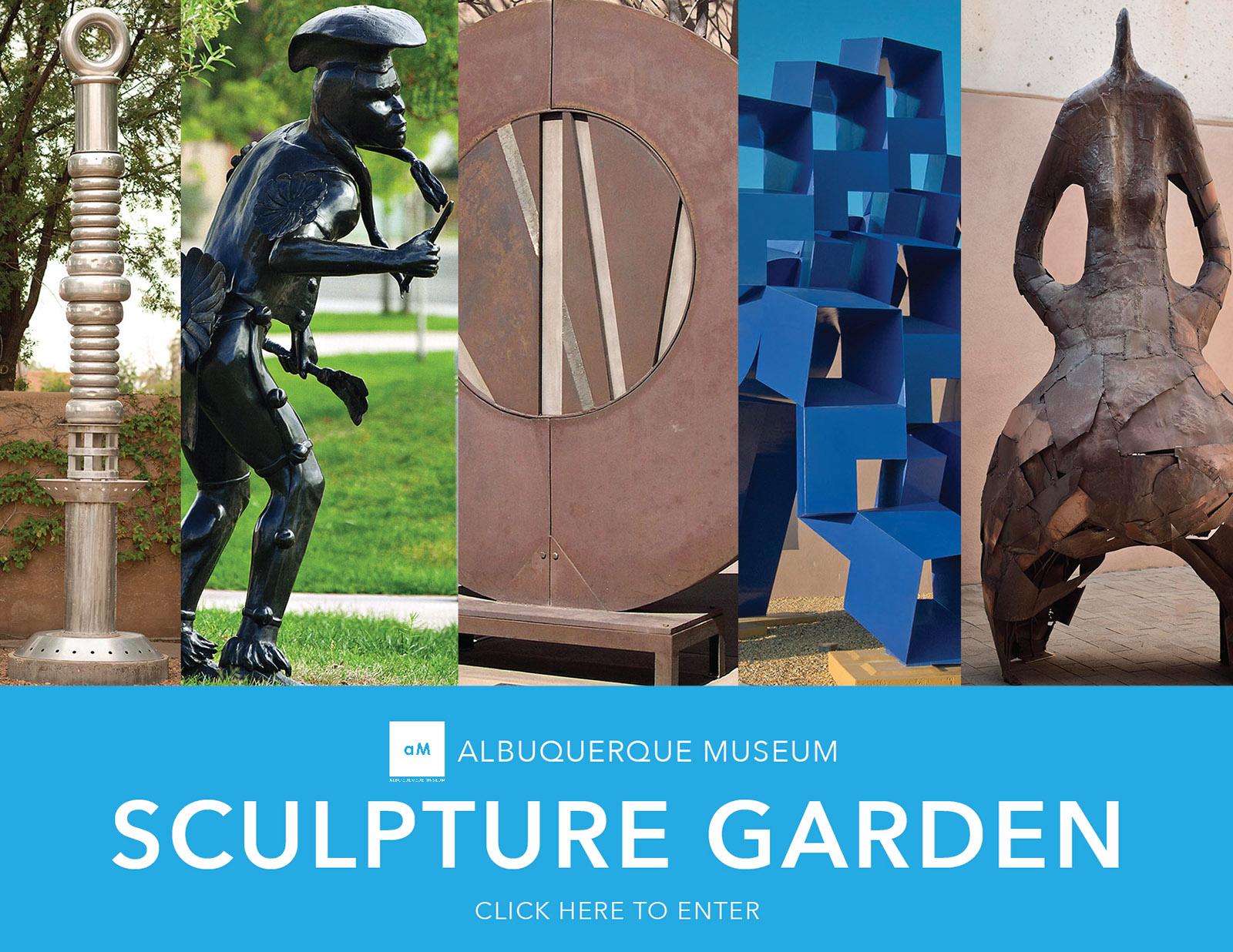 Sculpture Garden at the Albuquerque Museum