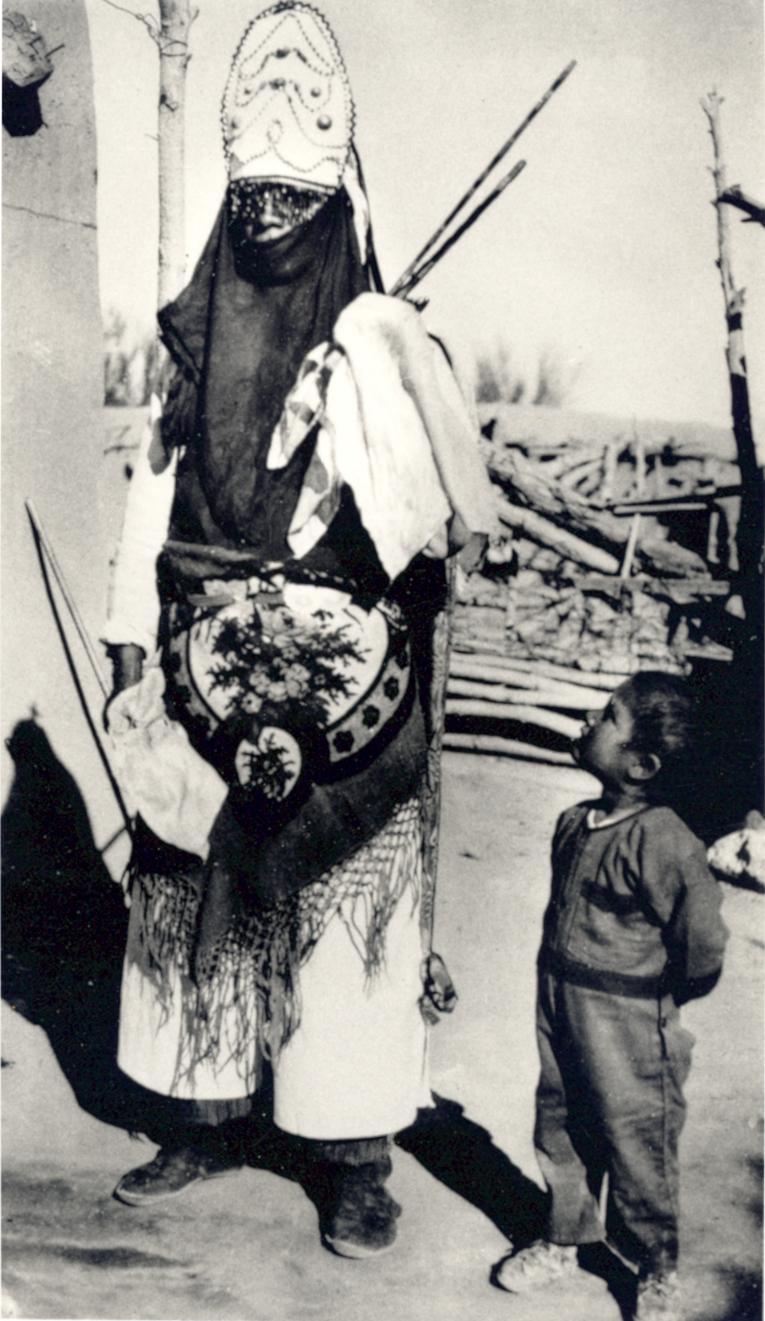 Photo Archives Matachine dancer 1927