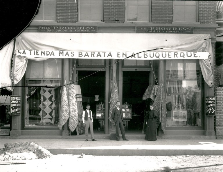 Photo Archives The Progress Dry Goods Store 1895