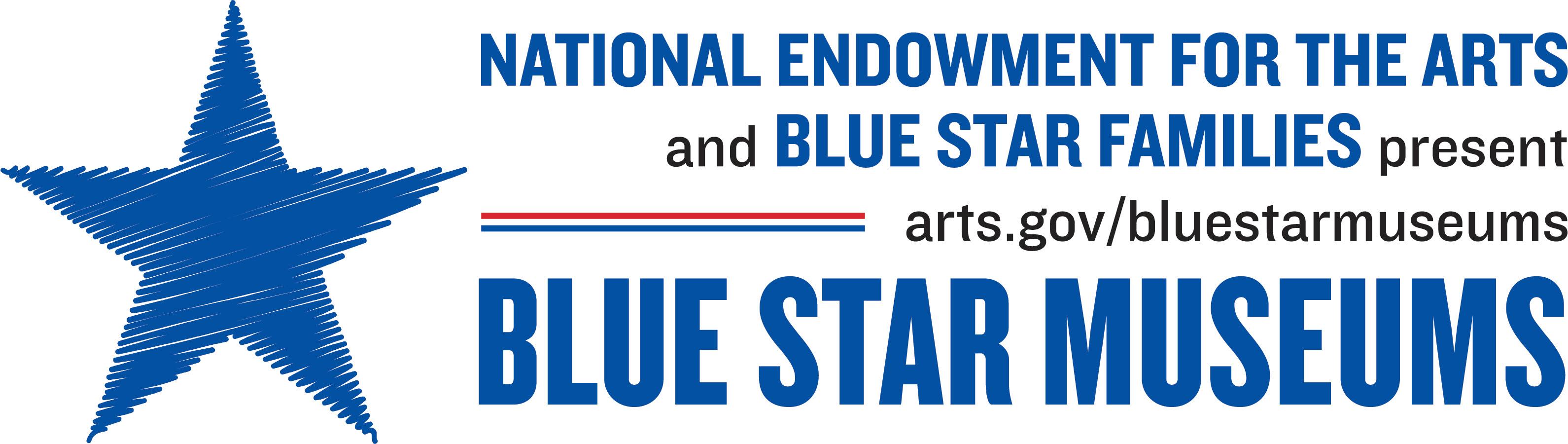 Blue Star Museums logo