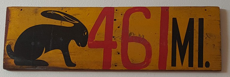 Route 66 - 27 Jackrabbit Sign