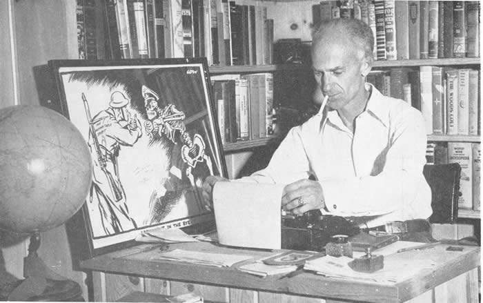 Ernie Pyle at Home