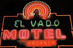 El Vado Motel Sign