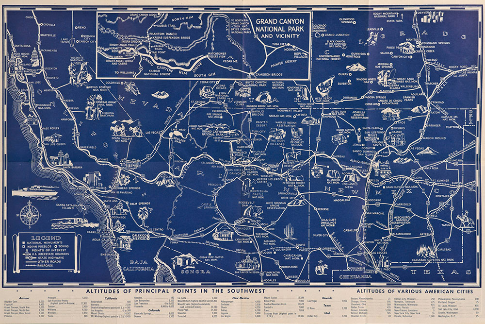Route 66 - 4 Map