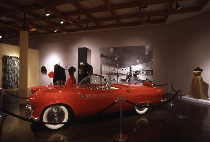 1956 Ford Thunderbird. Loan Courtesy Tom Mumford.  Courtesy Dick Ruddy Photography.