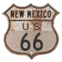 Route 66 - 9 Sign