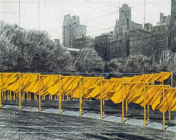 Christo and Jeanne Claude small