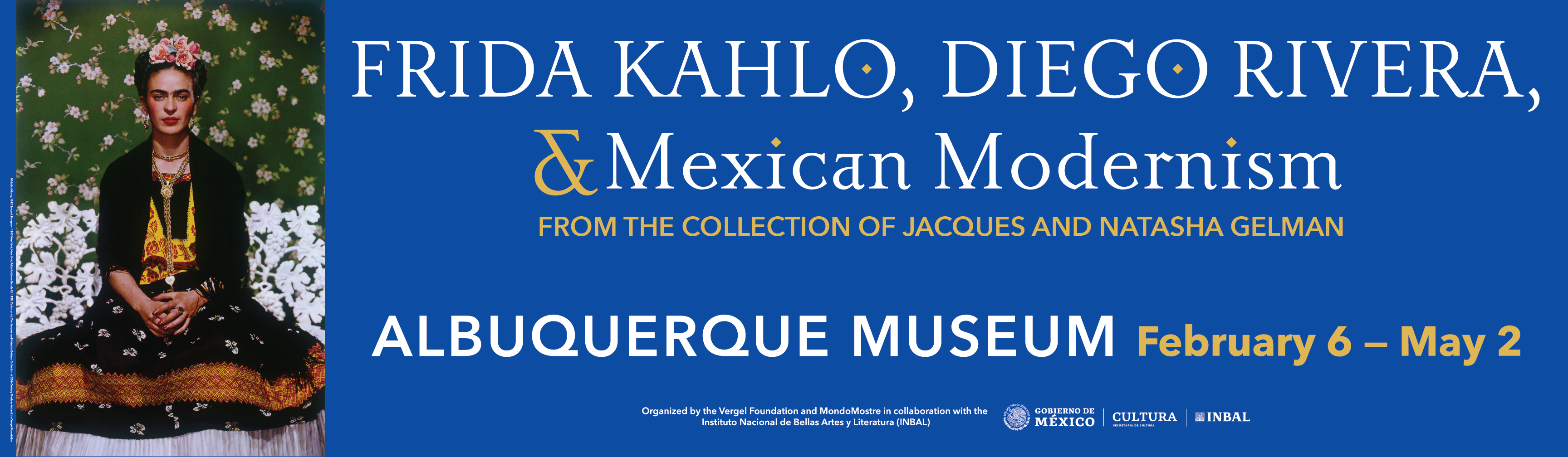 Frida Kahlo, Diego Rivera, and Mexican Modernism Banner