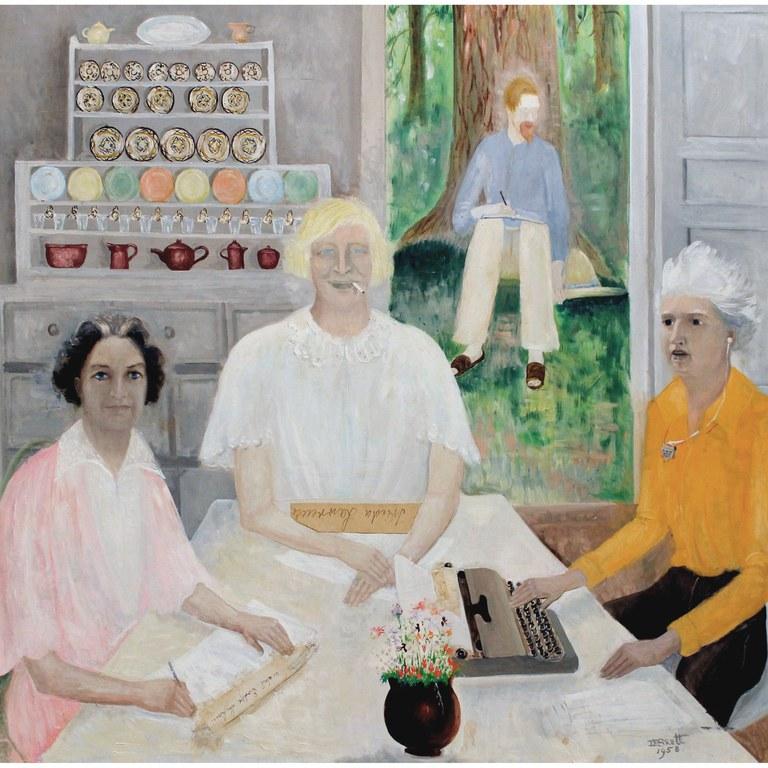 My Three Fates, Dorothy Brett