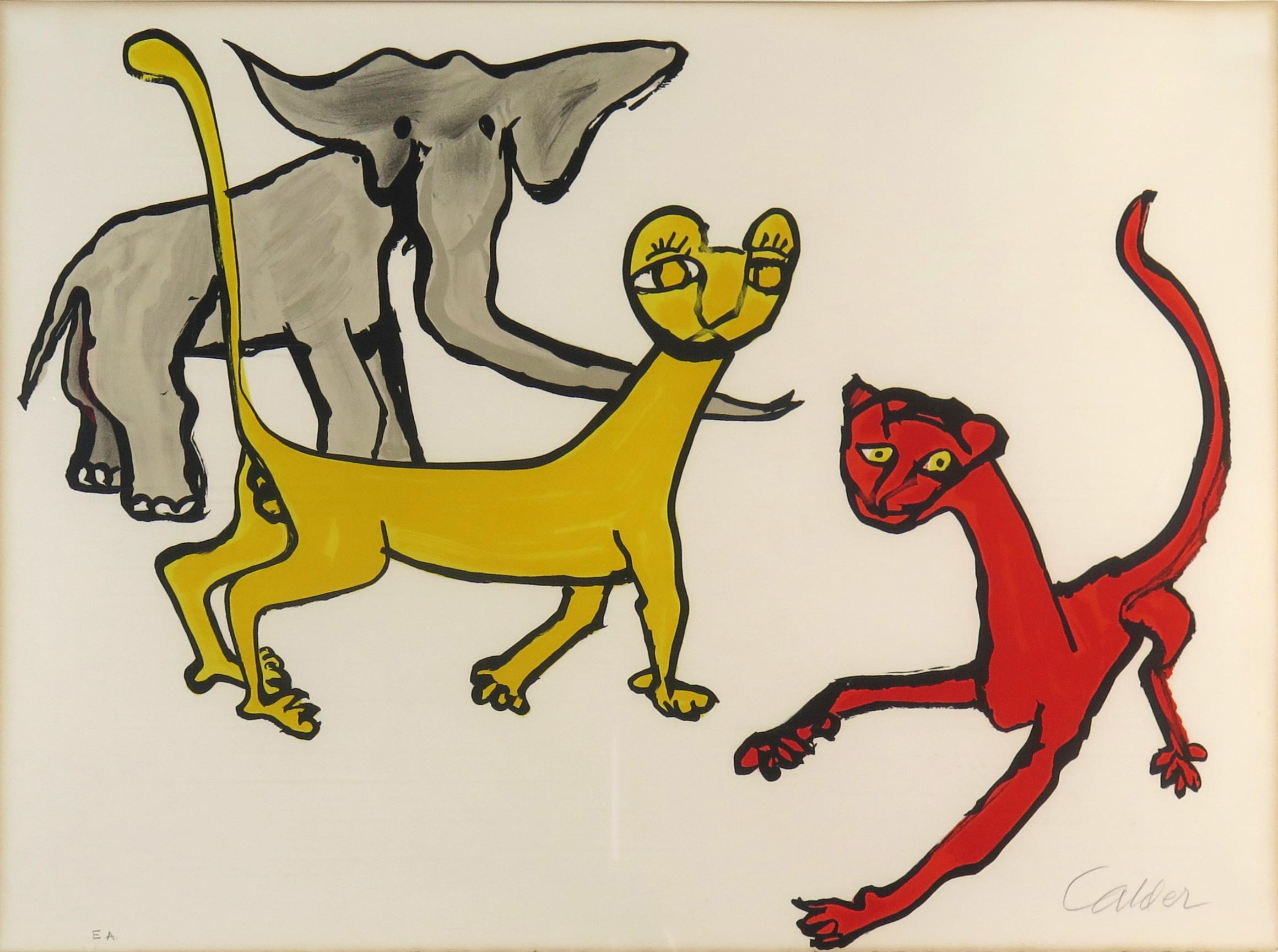 Calder Animals