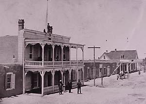 Centennial Hotel, C. 1890Rio Grande Boulevard1981.160.001Gift of Roy Farmer