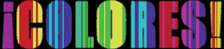 ¡COLORES! logo