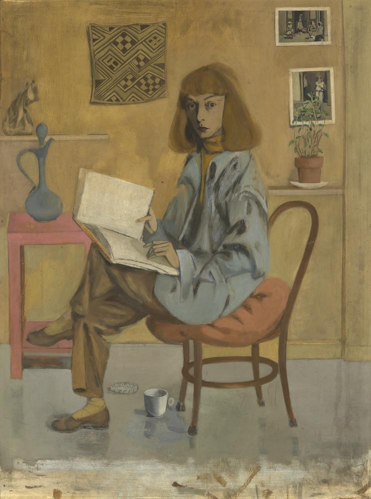 Elaine de Kooning, Self Portrait, 1946