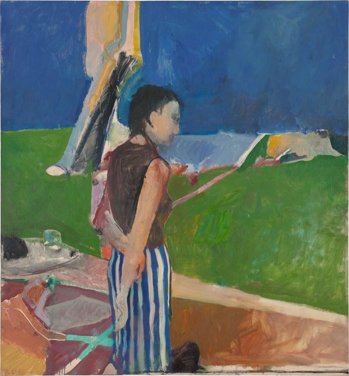Richard Diebenkorn, Girl on a Terrace, 1956