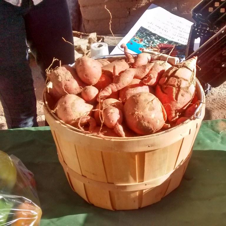 Harvest Festival Potatoes