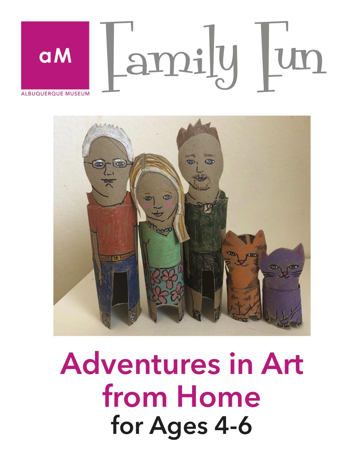 Family Fun Adventures in Art