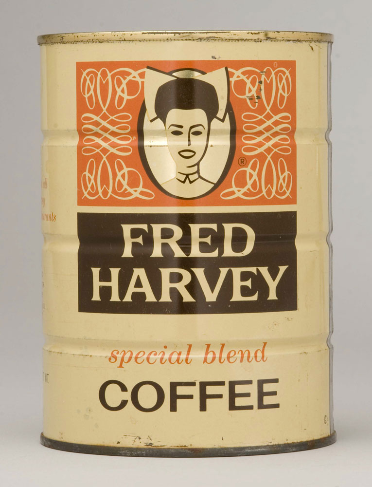 Fred Harvey coffee can PC2007.71.1