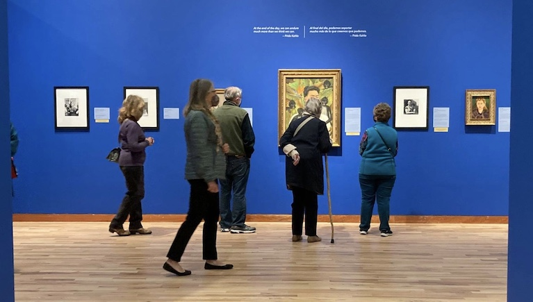 Frida Kahlo, Diego Rivera, and Mexican Modernism gallery at Albuquerque Museum