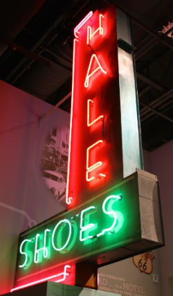 Only in Albuquerque - Hale Shoes Neon