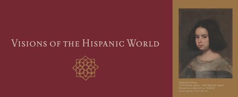 Visions of the Hispanic World Banner Velazquez
