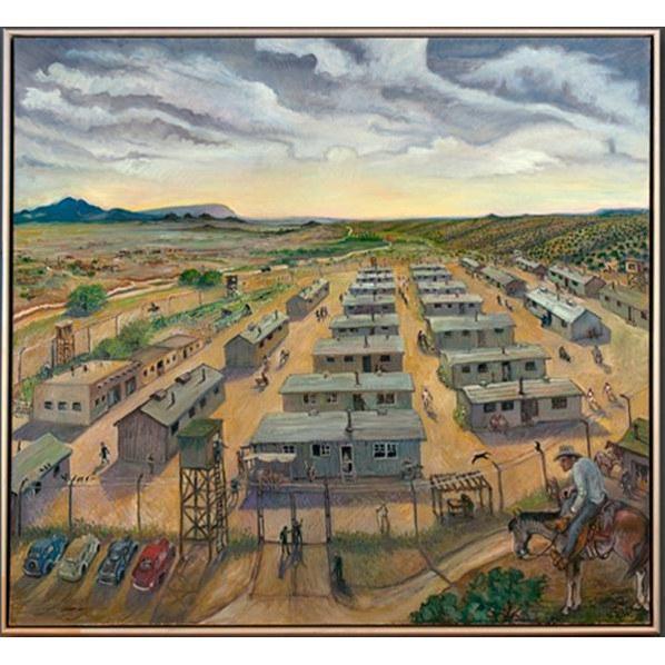 TRINITY Jerry West, Japanese Internment Camp (Santa Fe), 2009
